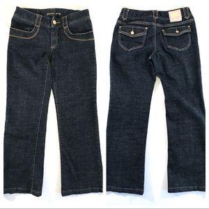 Michael Kors Dark Blue Straight Leg Jeans (6)
